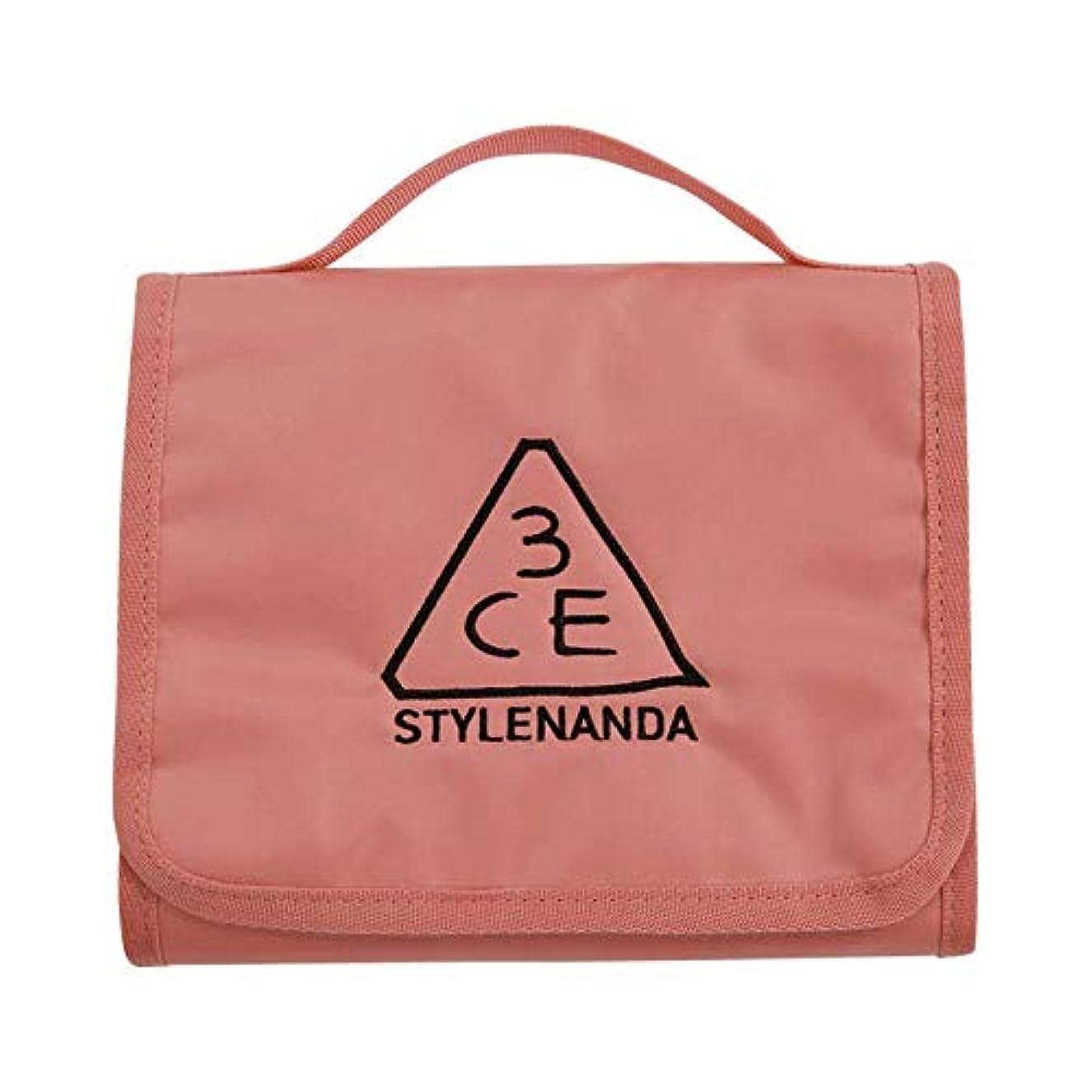 偽装する良性ウォーターフロント3CE ワッシュバッグ Sサイズ / 3CE WASH BAG_SMALL #PINK BEIGE [並行輸入品]