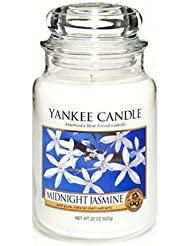 Yankee Candle 22-Ounce Jar Scented Candle, Large, Midnight?Jasmine by Yankee Candle [並行輸入品]