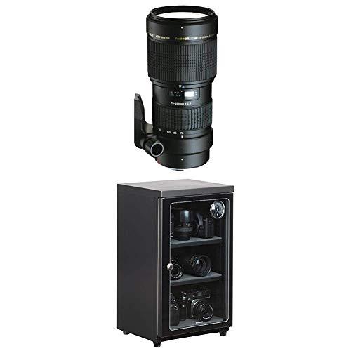 TAMRON 大口径望遠ズームレンズ SP AF70-200mm F2.8 Di ソニー用 フルサイズ対応 A001S + HAKUBA 電子防湿庫 E-ドライボックス 60リットル KED-60セット