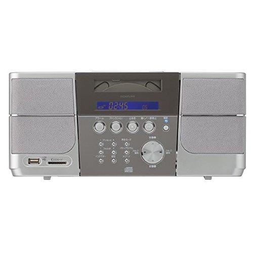 コイズミ ステレオCDシステム SDD-4340/S