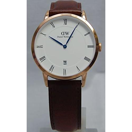 [ダニエルウェリントン]Daniel Wellington 腕時計 ウォッチ 1100DW 38mm Dapper ダッパー クラシック レトロ メンズ [並行輸入品]