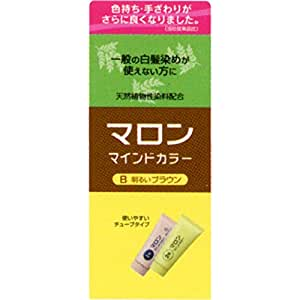 ヘンケルライオンコスメティックス マロン マインドカラー B 明るいブラウン 70G+70G (医薬部外品)