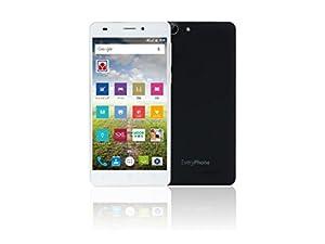 SIMフリー ヤマダ電機オリジナルモデル EveryPhone EN ブラック Black[LTE対応]