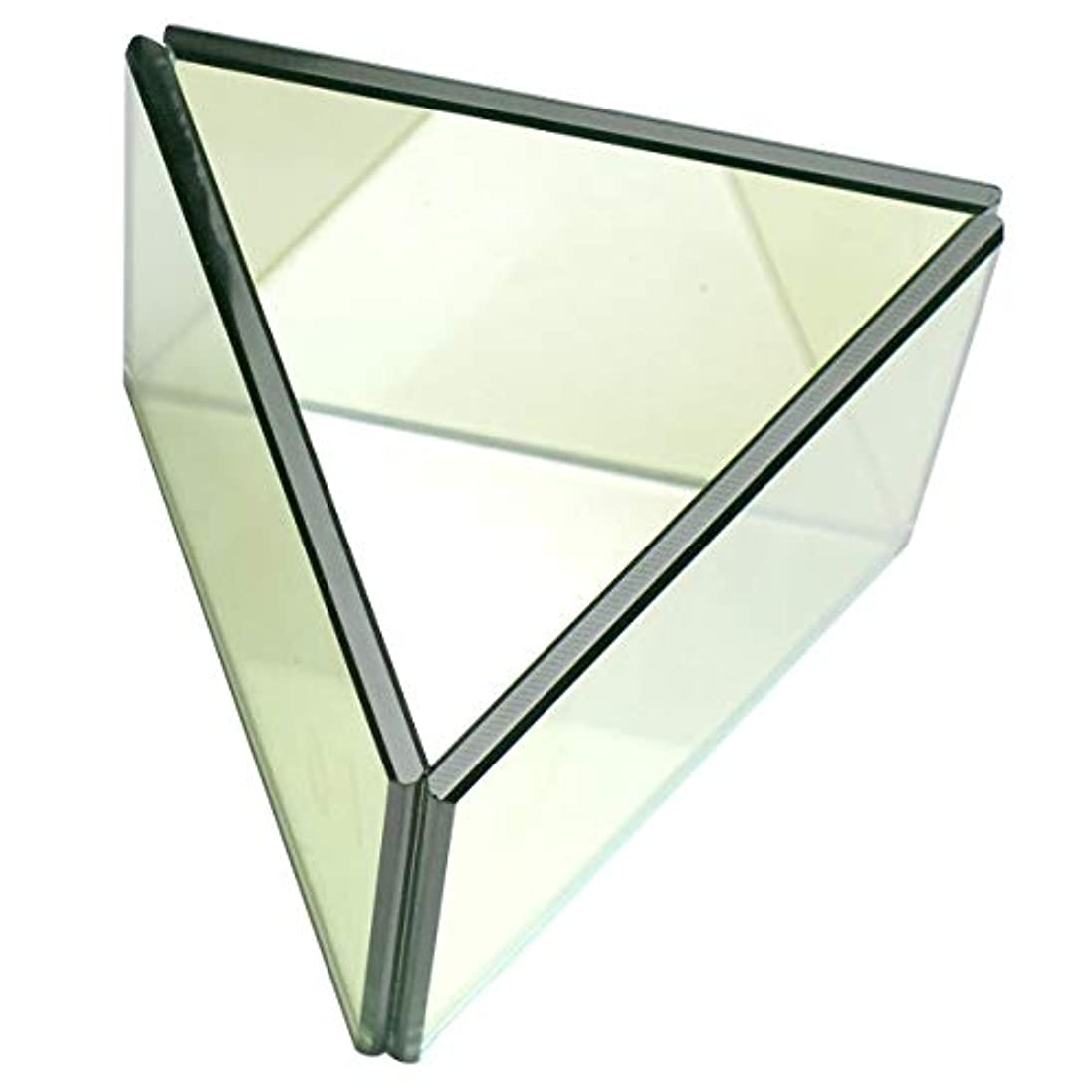 エスカレートダースから無限連鎖キャンドルホルダー トライアングル ガラス キャンドルスタンド ランタン 誕生日 ティーライトキャンドル