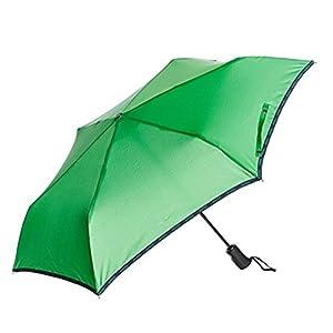 アウトドアプロダクツ 折りたたみ傘 自動開閉 無地 グリーン 全5色 6本骨 55cm 1000109105565