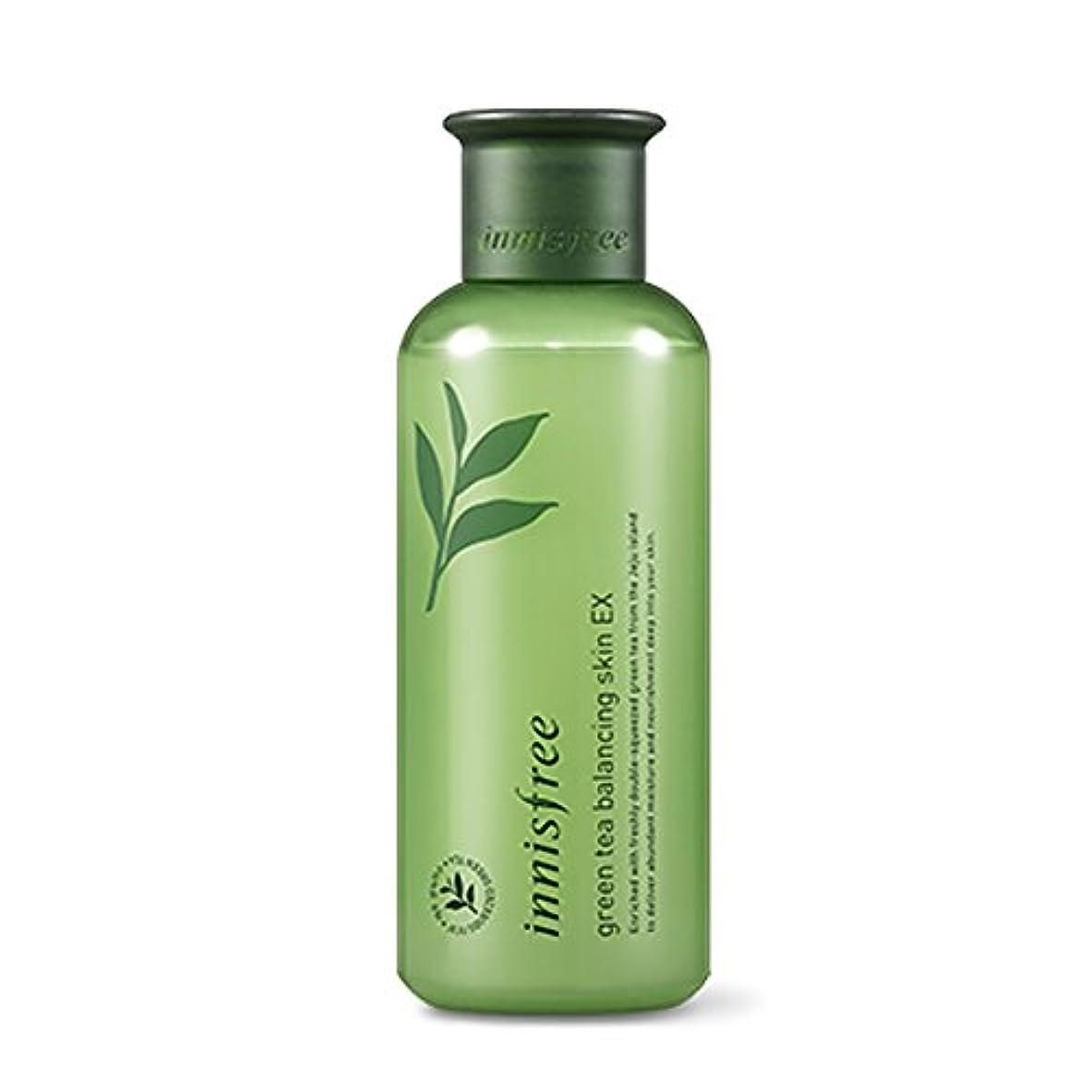 コンチネンタル経過段落イニスフリーグリーンティーバランシングスキン(トナー)200ml Innisfree Green Tea Balancing Skin(Toner) 200ml