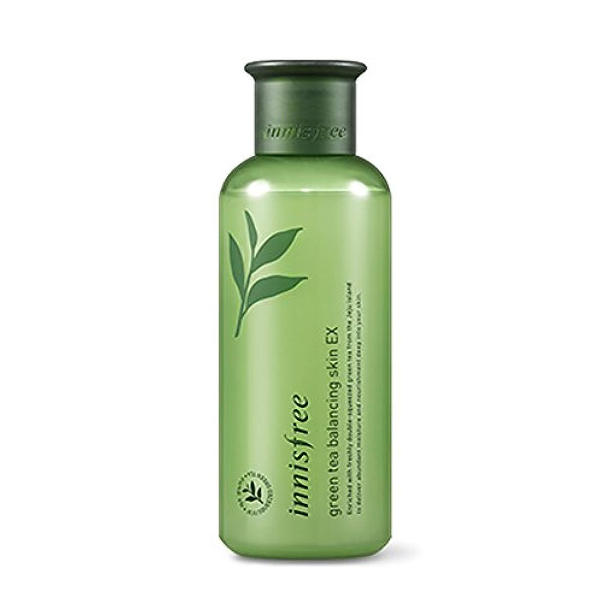 協力する最初に空白イニスフリーグリーンティーバランシングスキン(トナー)200ml Innisfree Green Tea Balancing Skin(Toner) 200ml