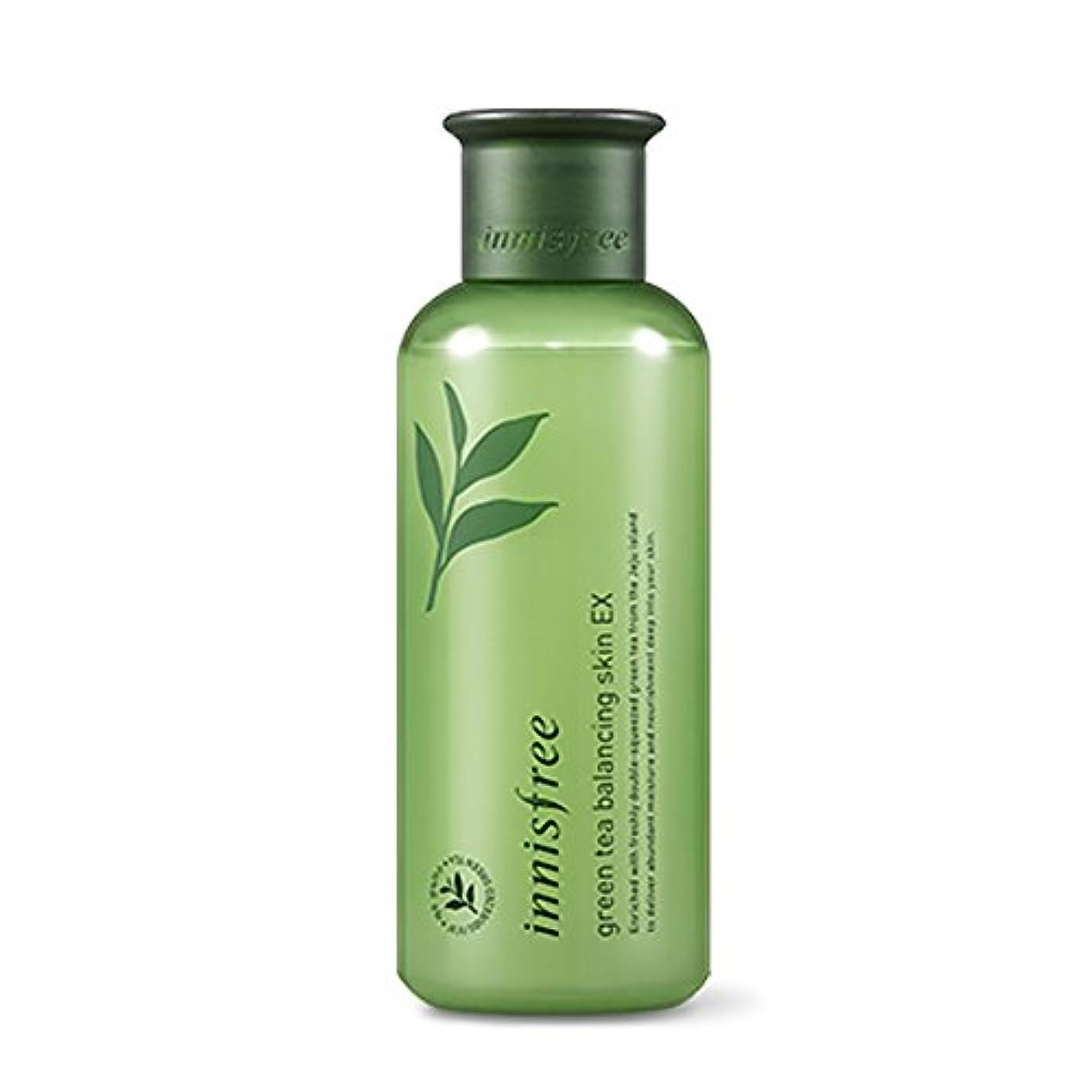 体薄いですオーバーヘッドイニスフリーグリーンティーバランシングスキン(トナー)200ml Innisfree Green Tea Balancing Skin(Toner) 200ml
