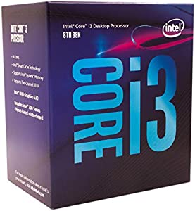 インテル Intel CPU Core i3-8100 3.6GHz 6Mキャッシュ 4コア/4スレッド LGA1151 BX80684I38100【BOX】【日本正規流通品】