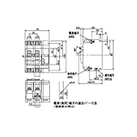 EP88407 リモコン漏電ブレーカ CLE型(瞬時励磁式)JIS協約形シリーズ 盤用【キャンセル不可】