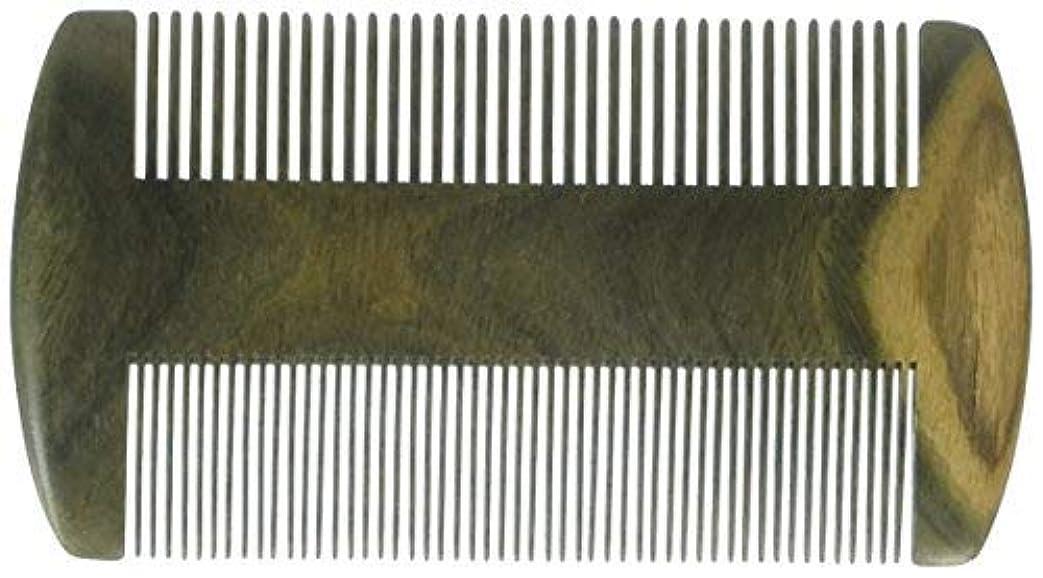 船外撃退する手EQLEF? Green sandalwood no static handmade comb, Pocket comb (beard) [並行輸入品]