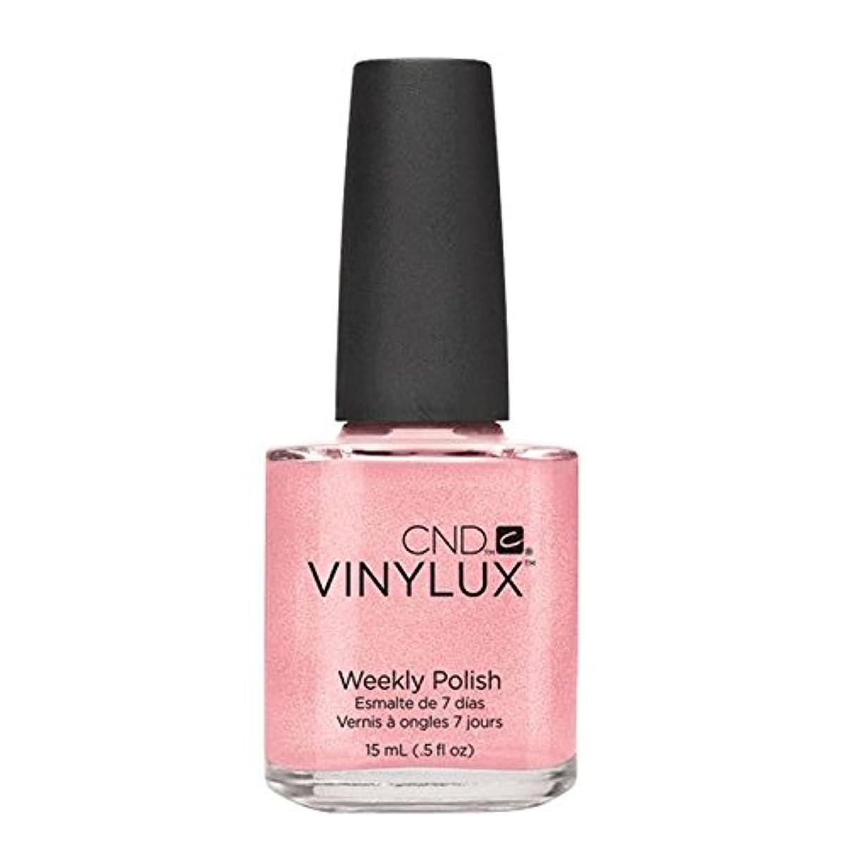 韓国環境はぁCND Vinylux Manicure Lacquer _  Grapefruit Sparkle #118_15ml (0.5oz)