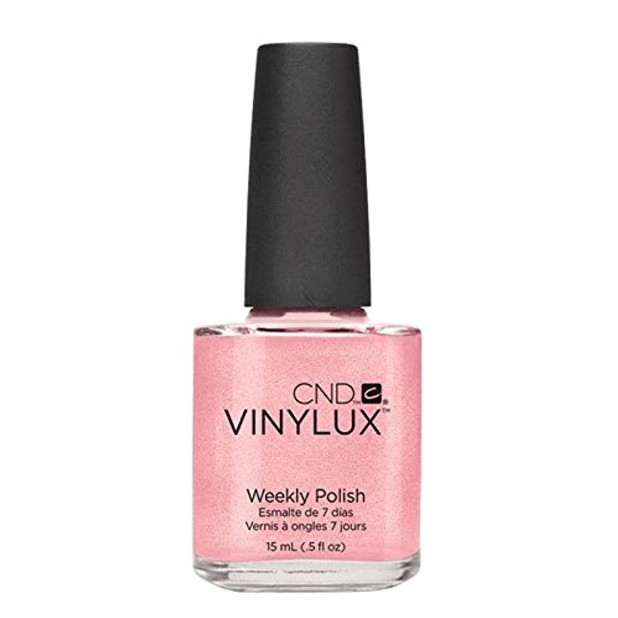 CND Vinylux Manicure Lacquer _  Grapefruit Sparkle #118_15ml (0.5oz)