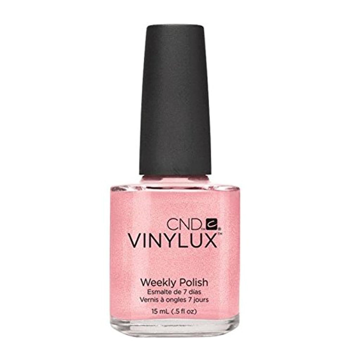 メトリック短命飛躍CND Vinylux Manicure Lacquer _  Grapefruit Sparkle #118_15ml (0.5oz)