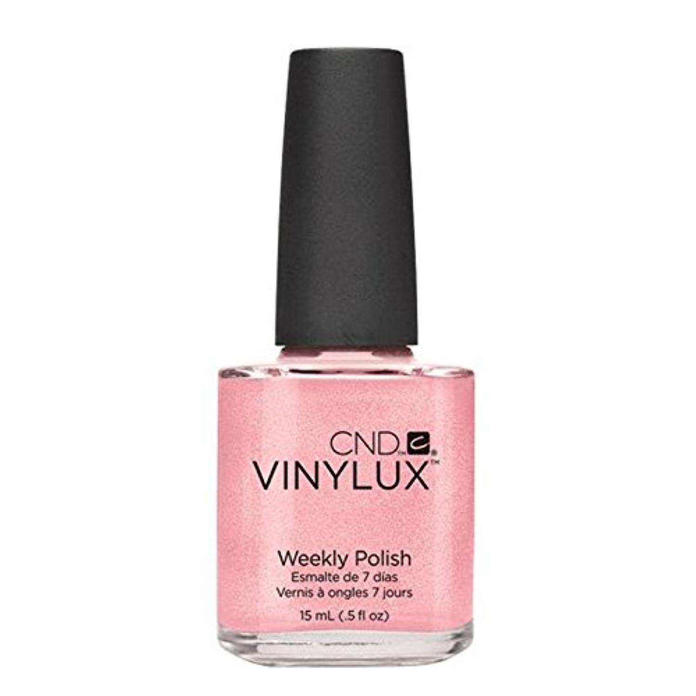 褐色ハッピー城CND Vinylux Manicure Lacquer _  Grapefruit Sparkle #118_15ml (0.5oz)