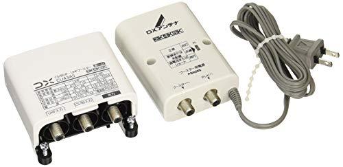 DXアンテナ CS/BS-IF・UHFブースター(33dB/43dB共用形) 【2K 4K 8K 対応】 デュアルブースター 家庭用 CU43AS