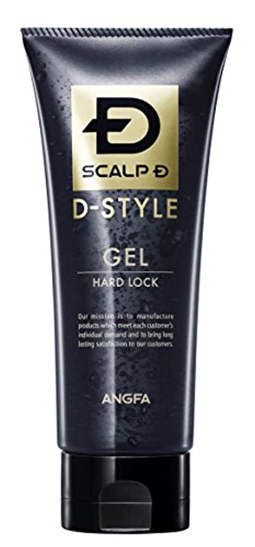 選ぶ物理的な神のアンファー (ANGFA) スカルプD Dスタイル ジェル ハードロック 150g スタイリングジェル ハードタイプ グリーンシトラスの香り