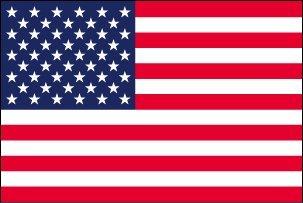アメリカ国旗・USA星条旗[S判・25×37.5cm・テトロン製]安心の日本製