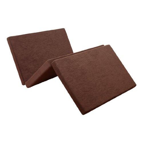 SLEEple スリープル 高反発マットレス 8cm厚 三つ折り Triplet シングル ブラウン