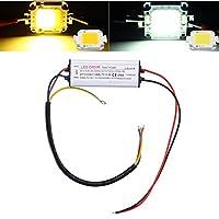 ZHENWOFC AC85-265V 33Wは洪水ライトのための高い発電LEDの運転者の供給SMDの破片を防水します (Color : Pure white)