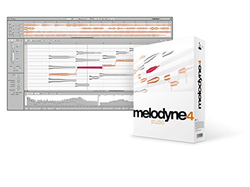 Celemony Software 和音対応 最高峰ピッチ編集ソフト MELODYNE 4 STUDIO【国内正規品】