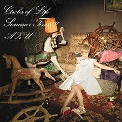 AZU「Summer Time!!!」の歌詞を収録したCDジャケット画像