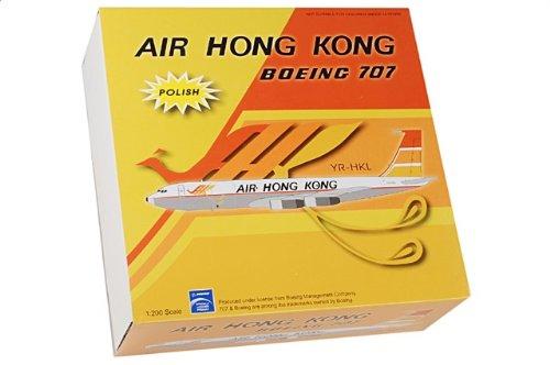 1:200 アビエーション 200 BBOX70701P ボーイング 707-300 ダイキャスト モデル Air Hong Kong VR-HKL ポリッシュ メタル 仕上【並行輸入品】