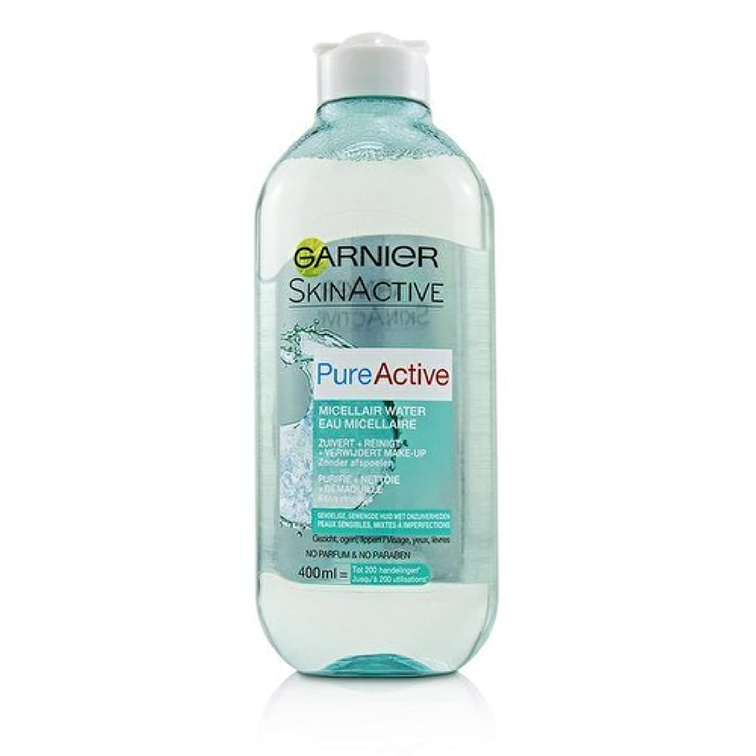 ガルニエ SkinActive PureActive Micellair Water - For Sensitive Skin 400ml/13.3oz並行輸入品