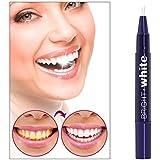 Milent 歯 ホワイトニングペン 歯ブラシ 歯を白くするペン 美白歯ゲル ステイン消し 輝く笑顔 口臭防止 歯周病防止 携帯便利 1本 (1pcs)2.5ml