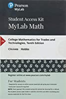 MyLab Math with Pearson eText - Standalone Access Card - for College Mathematics for Trades and Technologies (10th Edition) (My Math Lab)【洋書】 [並行輸入品]
