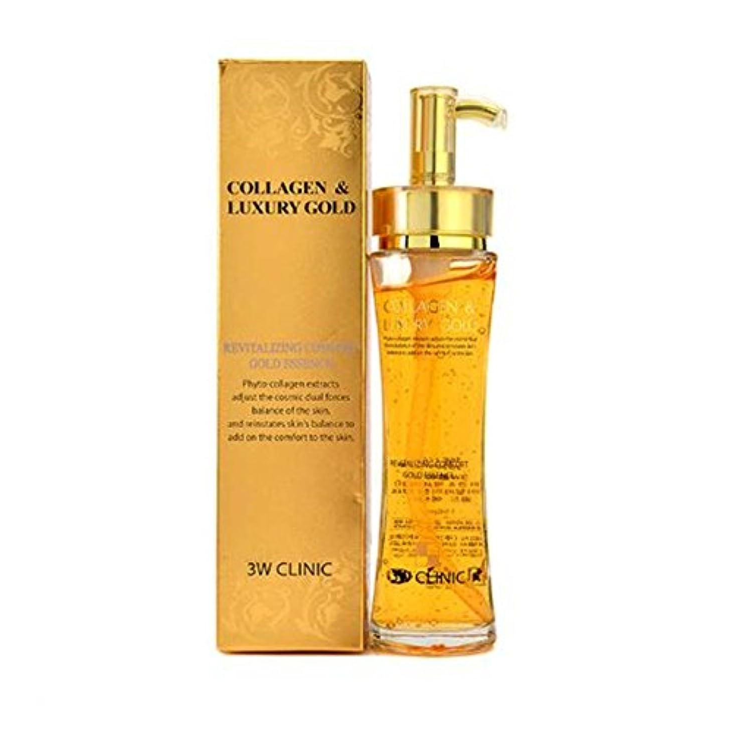 眩惑する地上でコンテンツ3Wクリニック Collagen & Luxury Gold Revitalizing Comfort Gold Essence 150ml/5.07oz並行輸入品