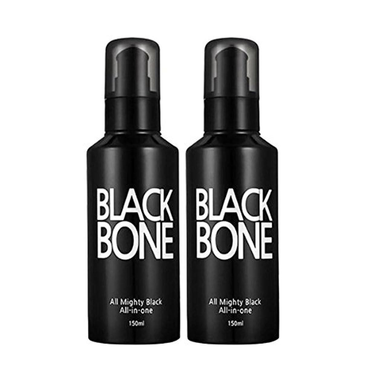 この宇宙飛行士緊張するソメンブラックボンオールマイティ男性オールインワン150ml x 2本セット、So Men Black Bone All Mighty Men All-in-One 150ml x 2ea Set [海外直送品]