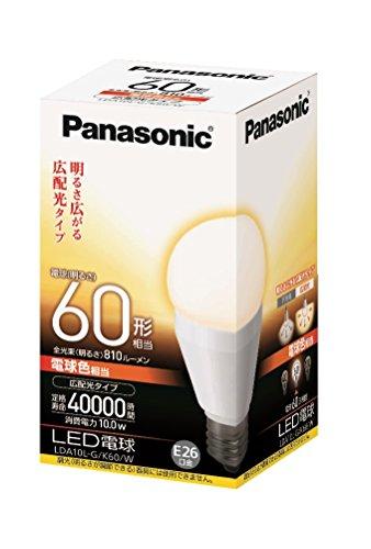 LED電球 一般電球タイプ 広配光タイプ LDA10LGK60W 箱1個