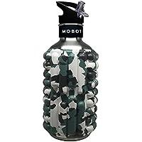 Mobot水ボトル&ローラー( 40oz。)