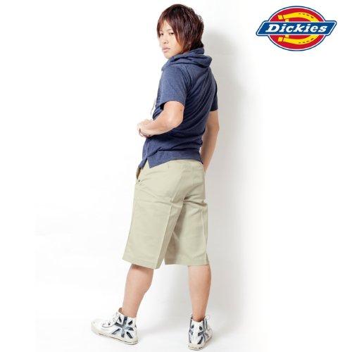 Dickies ディッキーズ ショートカーゴパンツ メンズ アメカジ 大きいサイズ ハーフパンツ カーゴ ワークパンツ ボトムス 並行輸入品 KHAKI 40インチ