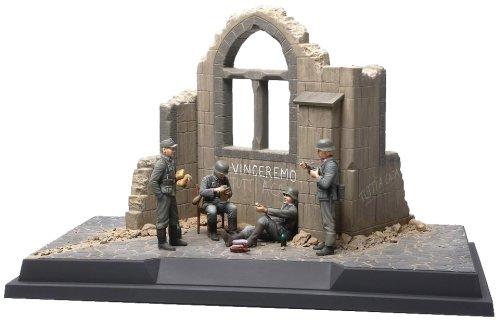 1/35 スケール限定商品 1/35 情景セットNo.4 ドイツ歩兵部隊 イタリア戦線 1943
