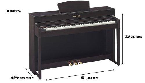 ヤマハ電子ピアノ(ニューダークローズウッド調)Clavinova クラビノーバ YAMAHACLP-535R