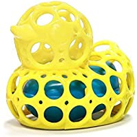 Oball O-Duckie Bath Toy YELLOW (Dispatched From UK) [並行輸入品]