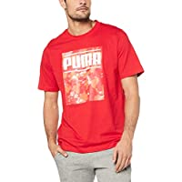 PUMA Men's CAMO Pack Logo TEE