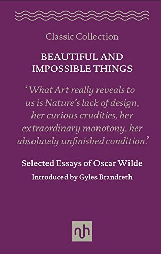 Download Beautiful and Impossible Things: Selected Essays of Oscar Wilde 1910749060