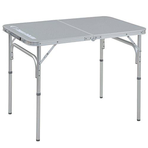 山善(YAMAZEN) キャンパーズコレクション フォールディングテーブル(幅60奥行90) YAT-6090