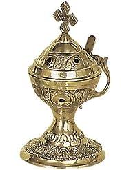 Christian Byzantine Orthodox Greek Colored香炉香炉Liturgy78 C