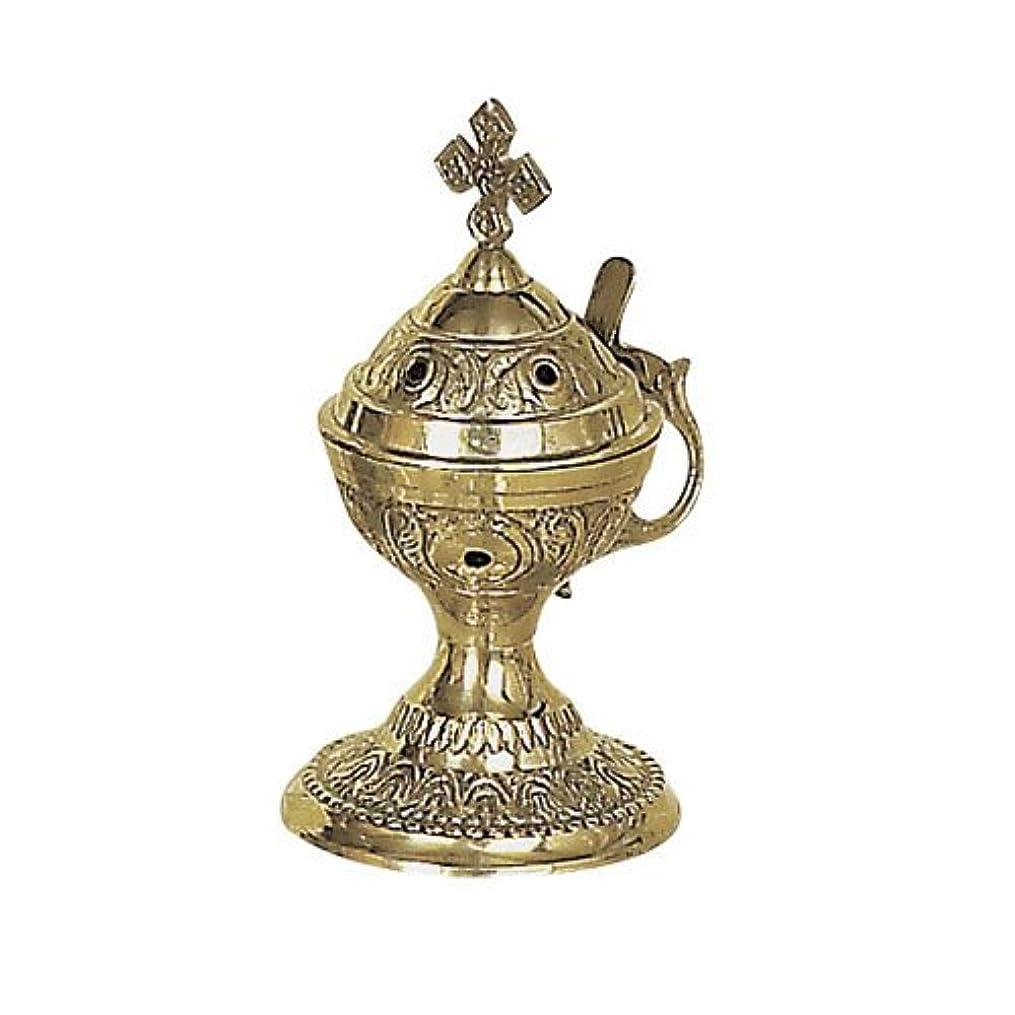 中央値立ち向かう近所のChristian Byzantine Orthodox Greek Colored香炉香炉Liturgy78 C