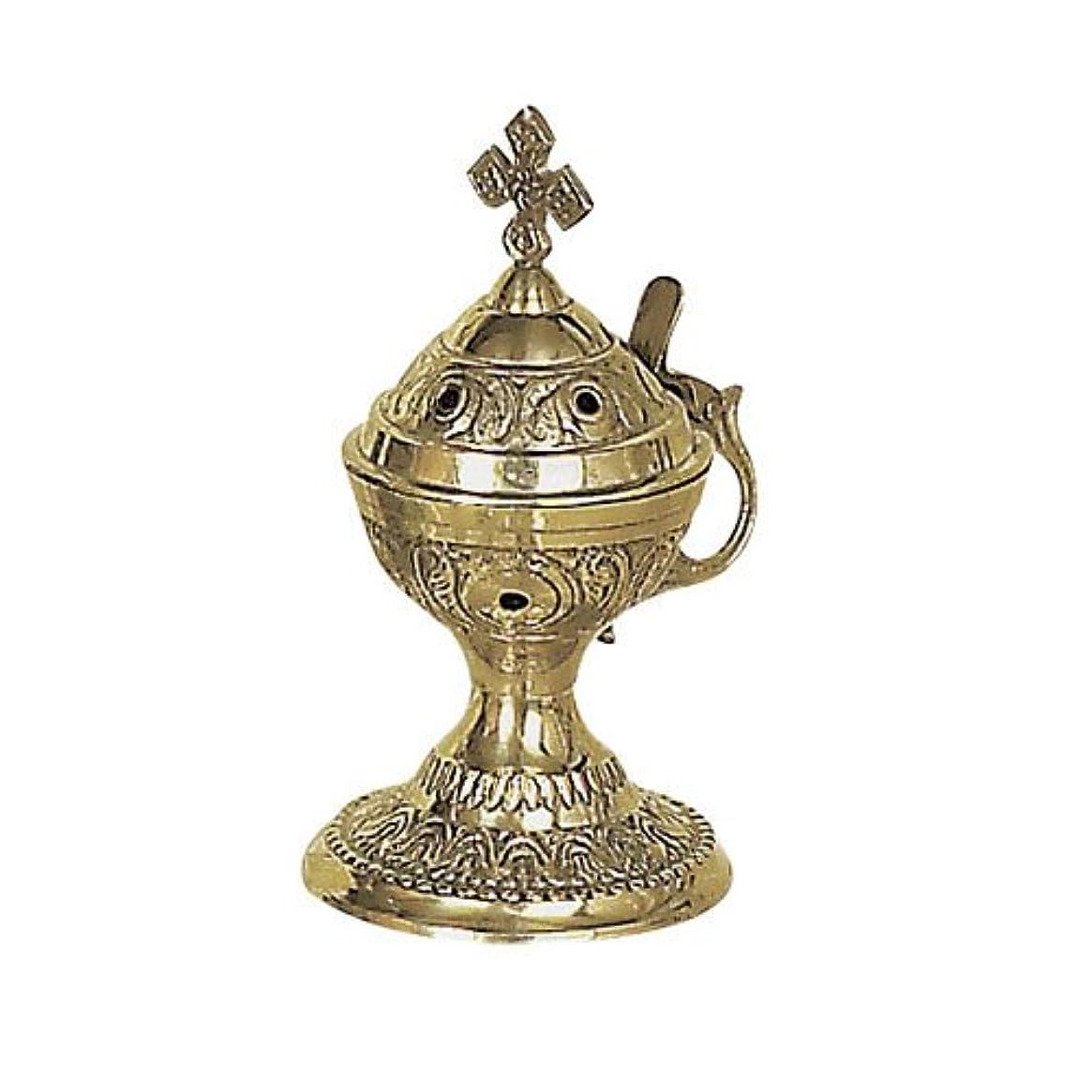 トイレアカウント敬意Christian Byzantine Orthodox Greek Colored香炉香炉Liturgy78 C