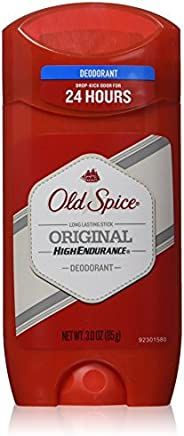 Old Spice High Endurance Original Scent Deodorant for Men - 3 Ounce / 85g, 3 Pack