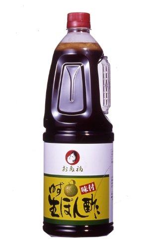 オタフク ゆず味付生ぽん酢 1.8L
