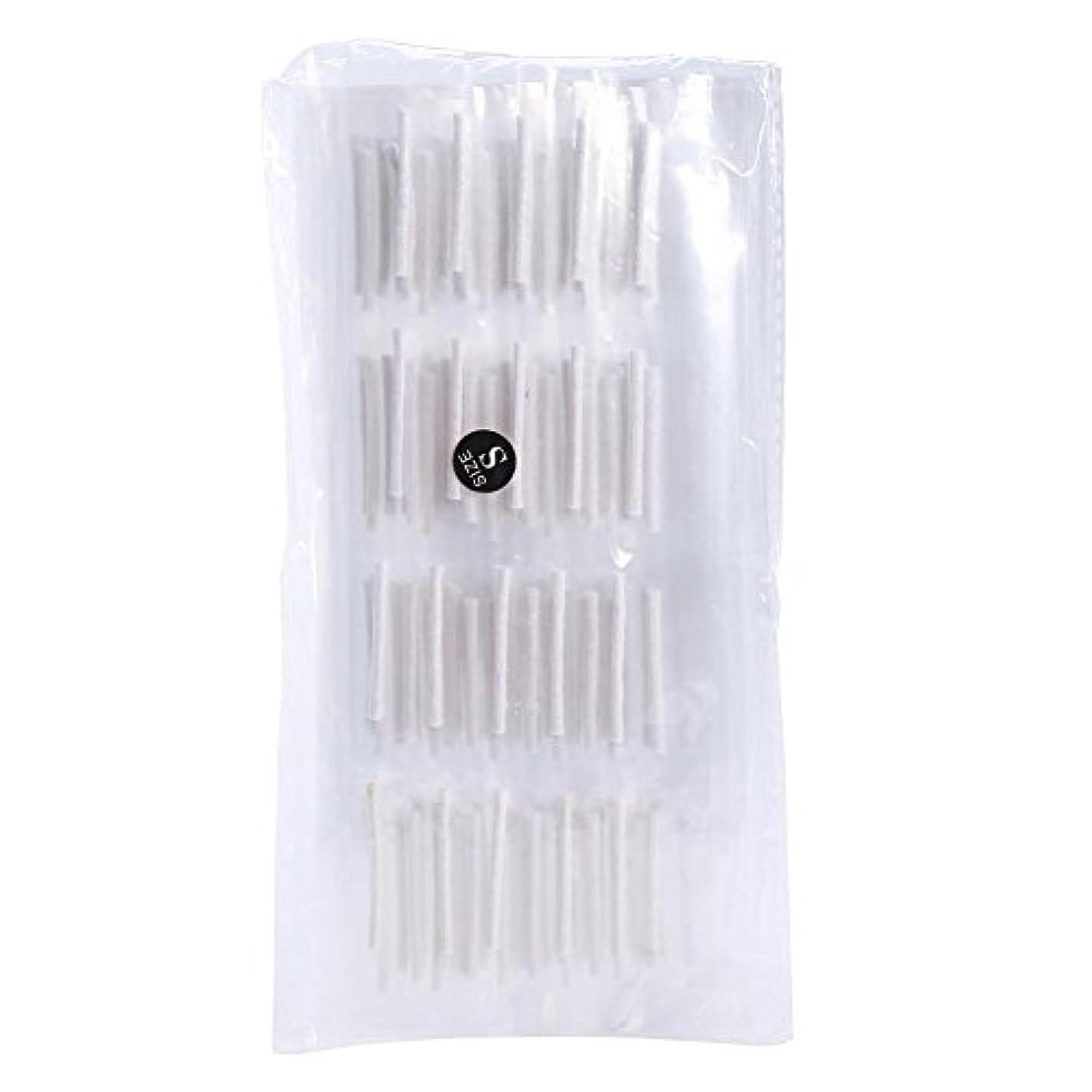 人道的予知小学生2 サイズ 200ピースのまつげ ウェーブスティック棒 まつげエクステンションツール(S)