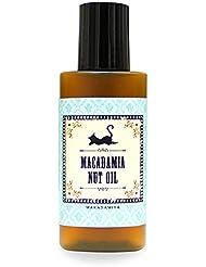 マカダミアナッツオイル20ml (無農薬 有機栽培) 高級サロン仕様 マッサージオイル キャリアオイル (フェイス/ボディ用)