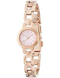 [ミッシェルクラン]MICHEL KLEIN 腕時計 縁刻印ブレスタイプ ピンクダイヤル AJCK022 レディース
