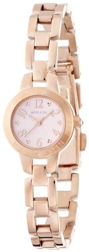 [セイコーウォッチ] 腕時計 ミッシェルクラン 縁刻印ブレスタイプ ピンクダイヤル AJCK022 ゴールド